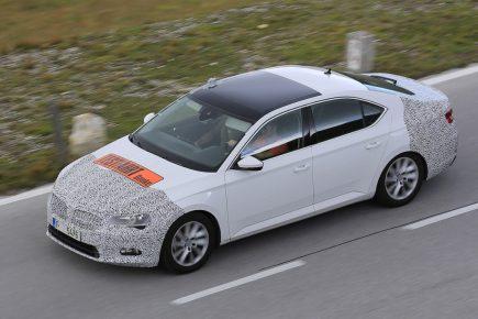 Väidetavalt on see plaasterdatud Octavia. Pilt ja teised sellesarnased levivad Škoda blogides