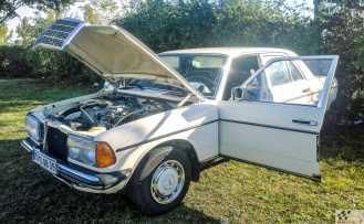 1979 M-B 200 diesel. 1400€