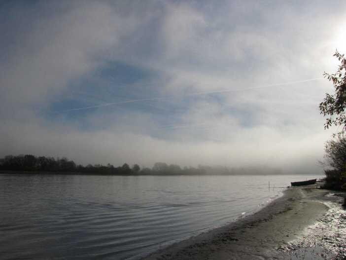 Udu Narva jõel. Siin lookleb Eestimaa idapiir. Autor: Elina Akk