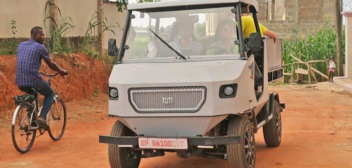Palun meile ka! aCar – elektriauto, mis on mõeldud Aafrika külateedele