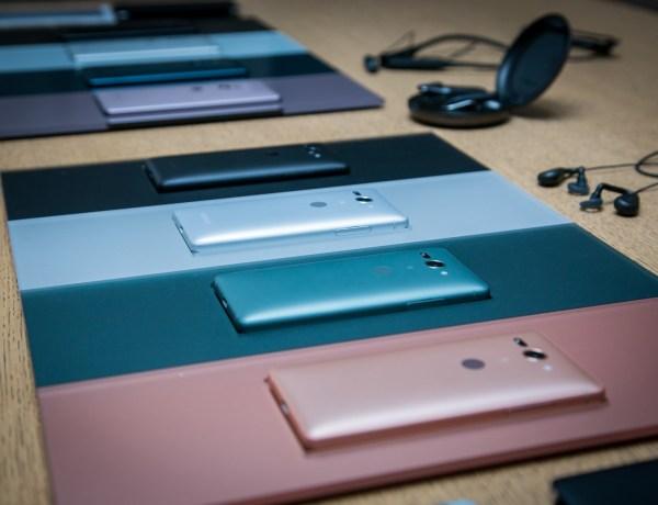 Pilk peale, näpud külge: Sony XZ2 on Sony uus tipptelefon ja see on nüüd kohal