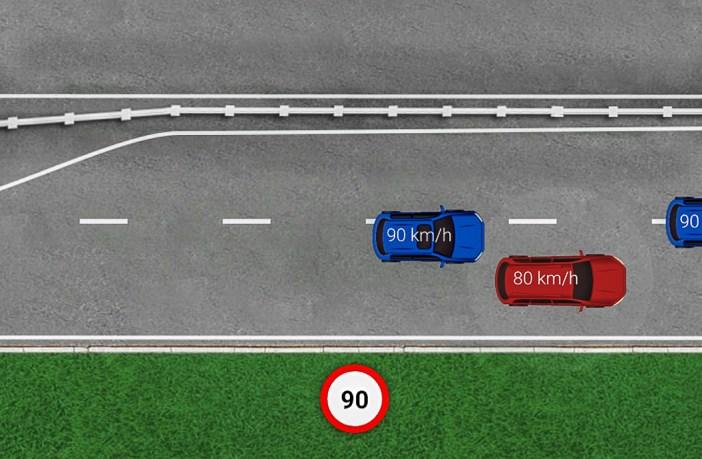 2+1 teelõik segadusseajav liiklusülesanne
