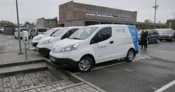 Elektrilevi autopargis on nüüdsest kolm Nissan e-NV200 elektrikaubikut
