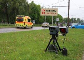 Lugeja küsib: kas on võimalik, et mobiilne kiiruskaamera mõõdab valesti?