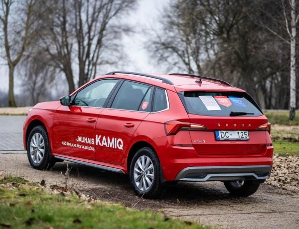 Škoda Kamiq võitis ka Läti aasta auto 2020 tiitli, II Peugeot 208, III Renault Clio
