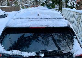 Mis sinu vabandus on, et sa oma autot lumest puhtaks ei tee?