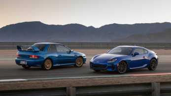 Subaru BRZ 2022 ja Subaru 22B