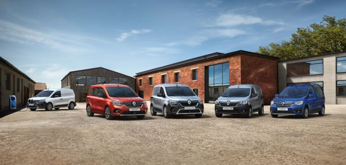 Uus Renault Kangoo pisikaubik pakub eriti mugavat juurdepääsu kaubale