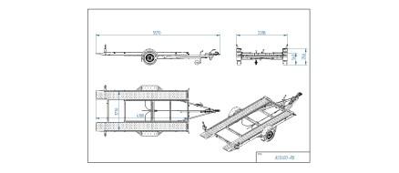Tiki treiler tehnilised joonised