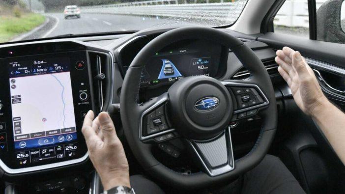 Subaru Levorg rool juhiabi