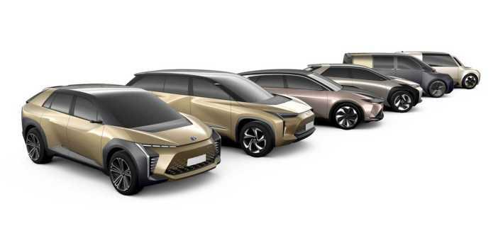 Toyota elektriautod