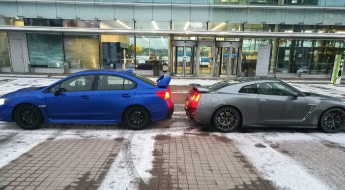 WRX STI ja GT-R