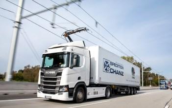 Siemens eHighway/Scania troll-veok