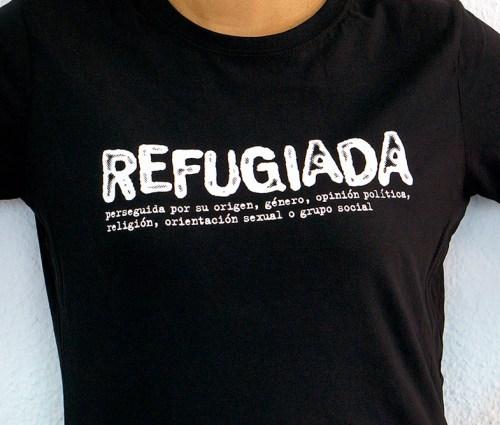 Refugiada - Camiseta Negra