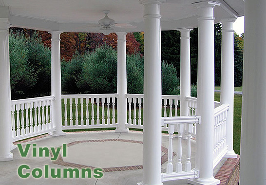 Column Wraps Porch Vinyl