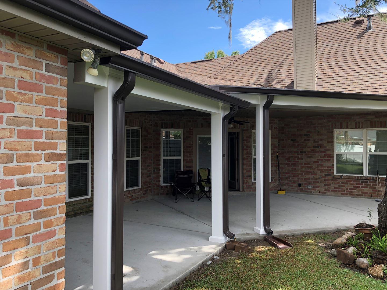 Aluminum Patio Cover Contractors in New Orleans Louisiana ... on Patio Enclosures  id=17731