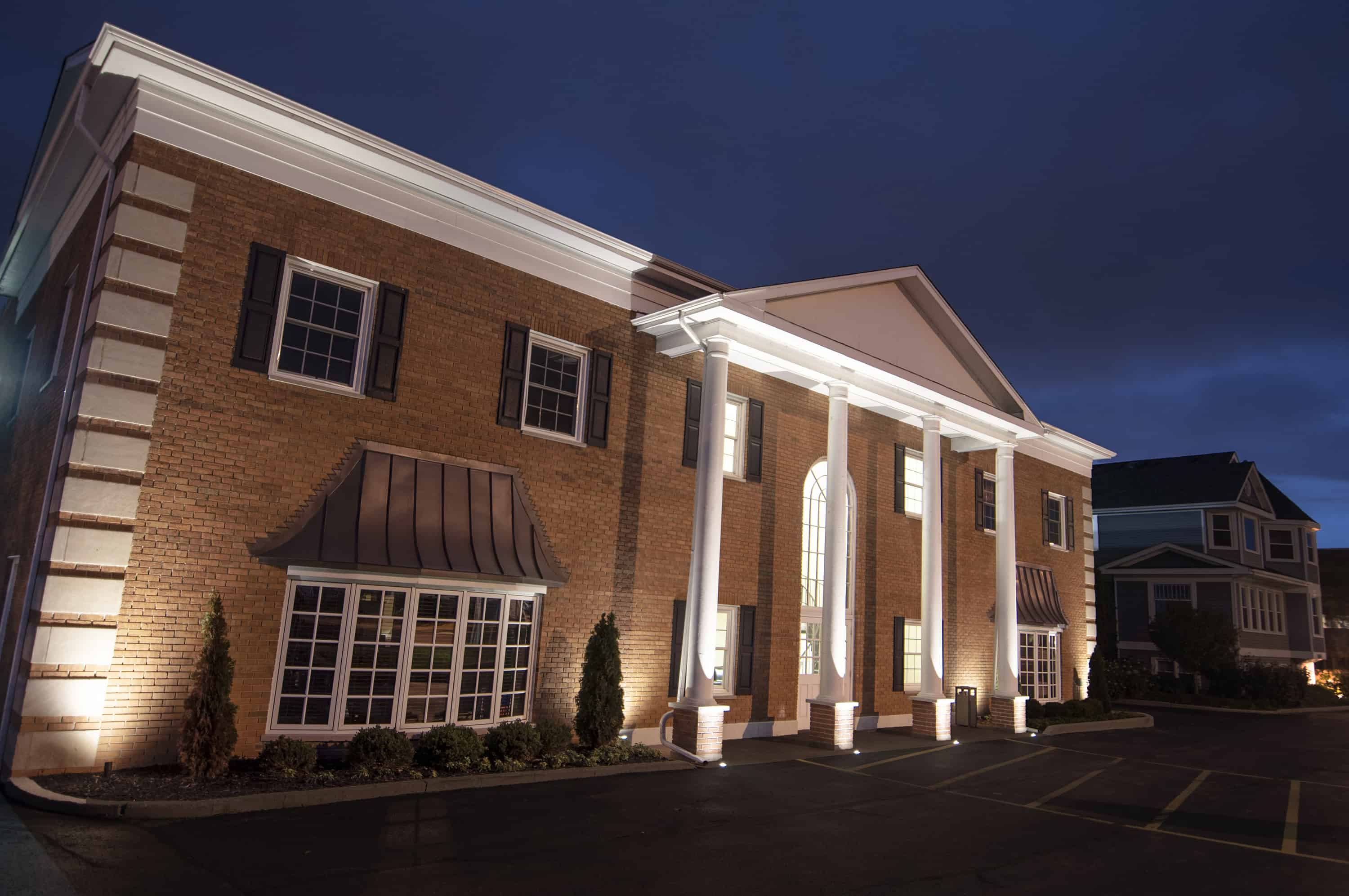 Commercial Buildings Outdoor Lighting In Chicago Il