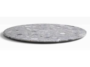 table de restaurant terrazzo, plateau de table marbre
