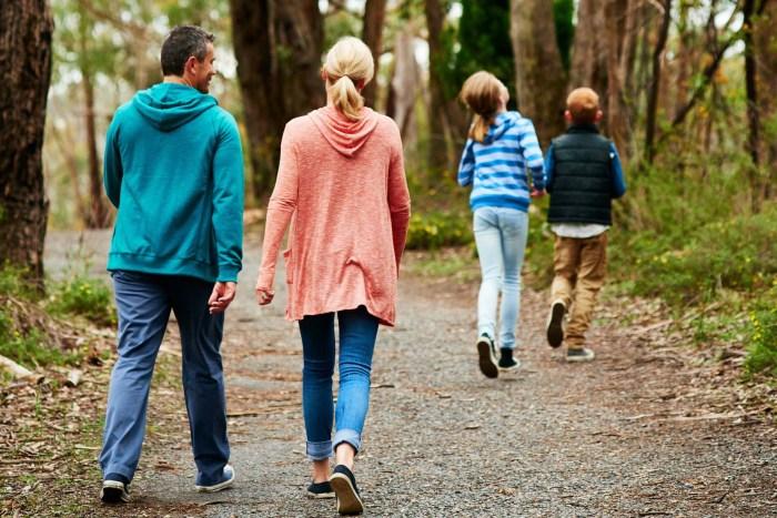 Walking to prevent illness