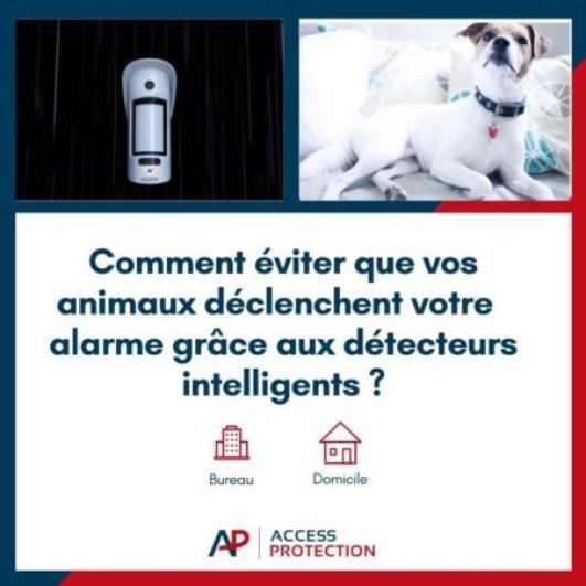 évitez que vos animaux déclenchent votre alarme
