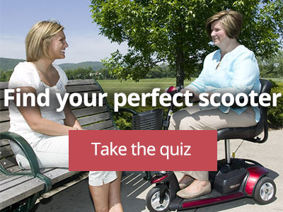 Find the right mobility scooter quiz