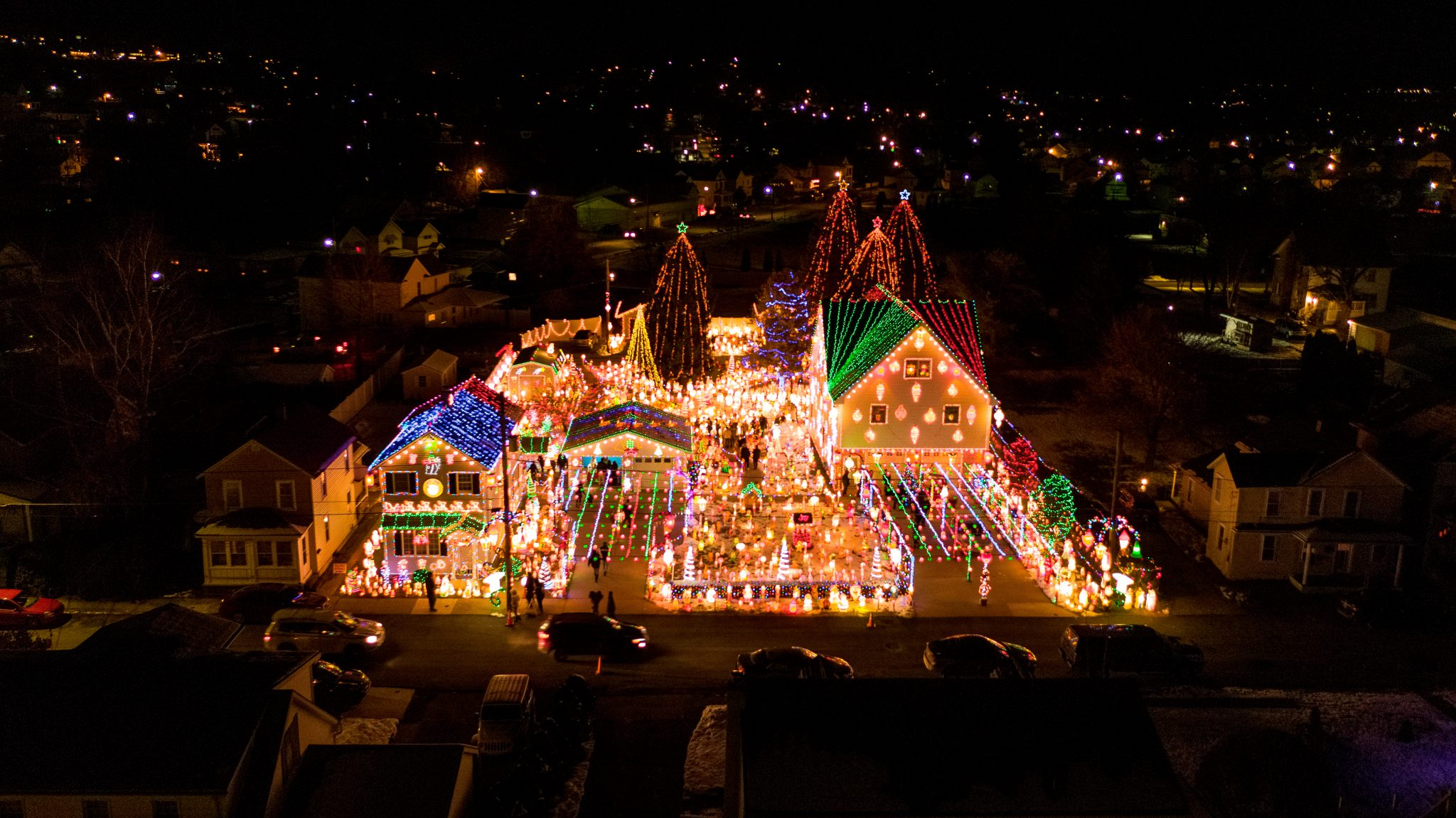 Best Christmas Displays in Lackawanna County PA