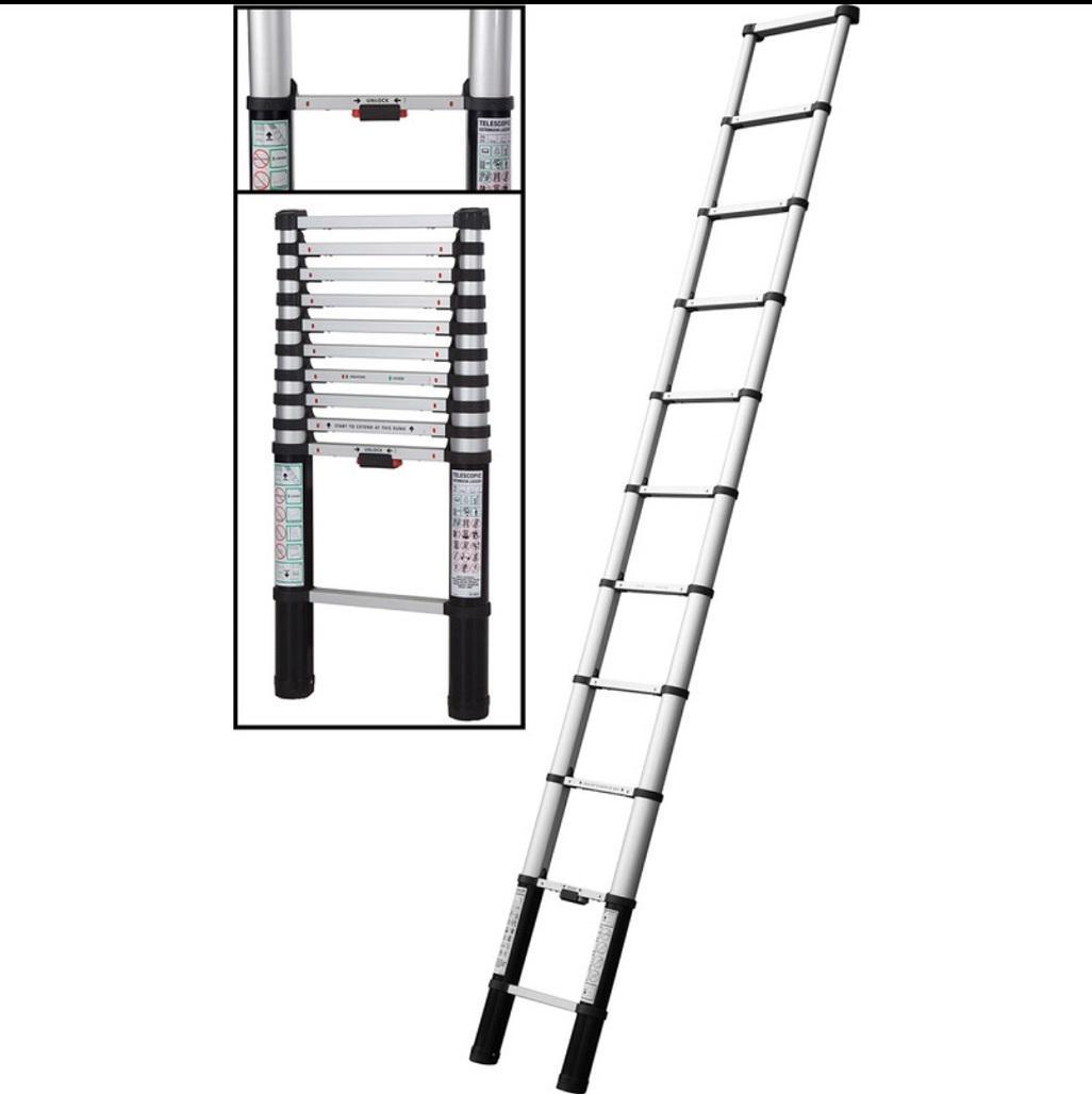 Aluminium Telescopic Ladder 2 6m