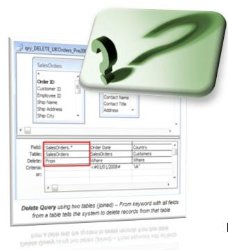 create an access query