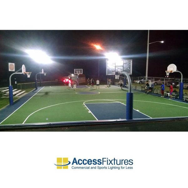 LED Volleyball Court Lighting 20 Avg FC - Quick Ship ...