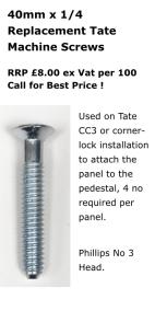 40mm Tate Machine Screw