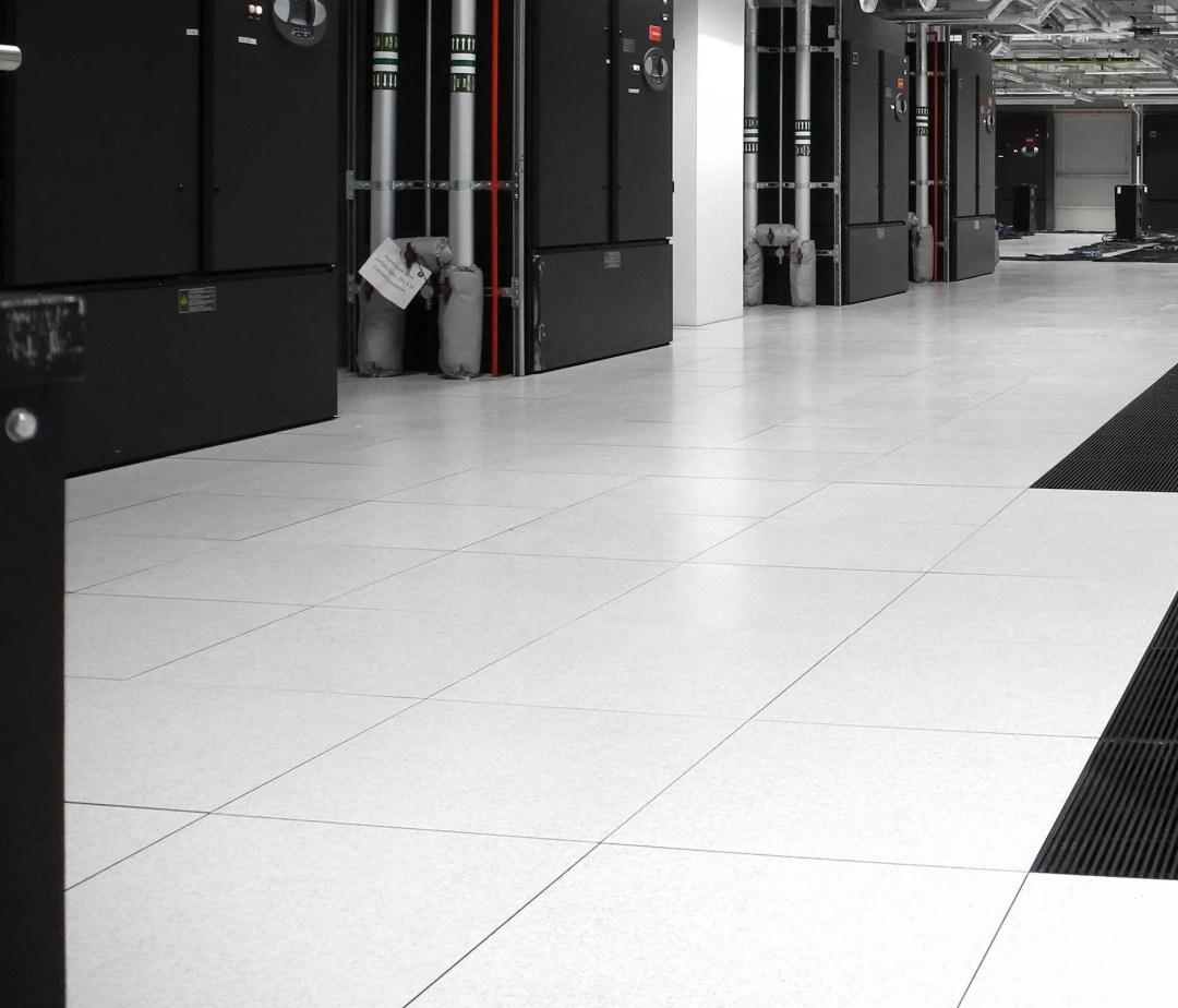computer room, server room and data center flooring