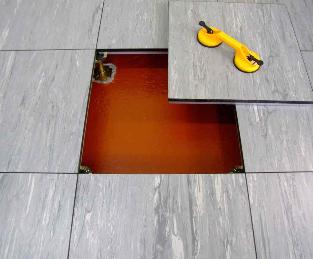 raised access flooring tiles