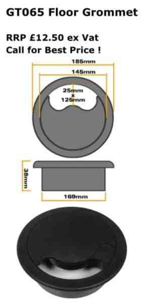 GT065 Round Floor Grommet