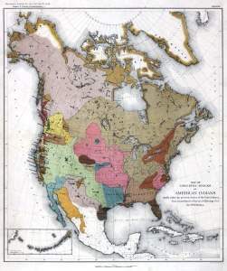 Linguisitic Families of American Indians - Powell