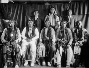 Cheyenne Men in 1909