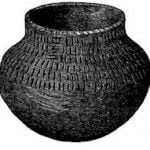 Cup found in Mound at Rainy River, Aug 22nd, 1884.