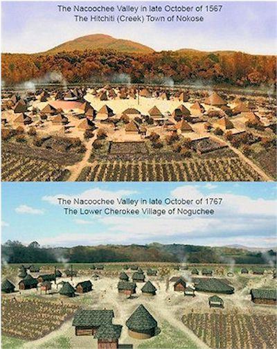 Cherokees in Nacoochee Valley