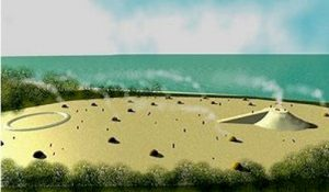 Sand Shell Mound: Probable appearance of Tick Island, FL around 3200 BC