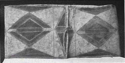 "Parfleche box ""Crows, Montana Ter. J. I. Allen."" Length 28 inches, width 13 1/2 inches. (U.S.N.M. 130574)"