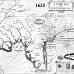 1625 French Map - Florida et Regiones Vincinae