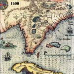 1600 Map of LaFlorida