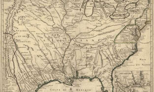 1718 de L'Isle Map