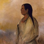 A Choctaw Woman, George Catlin, 1834