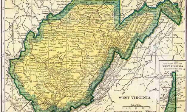 1910 West Virginia Census Map