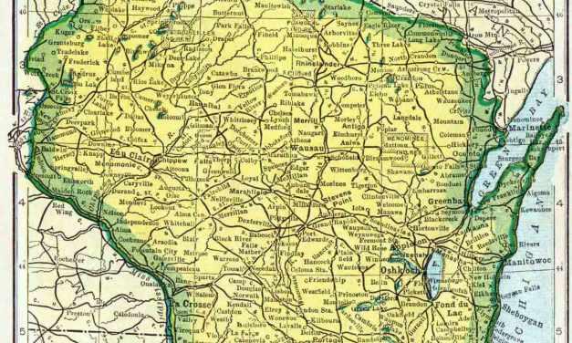 1910 Wisconsin Census Map