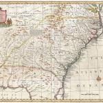 1747 Bowen Map of the Southeast