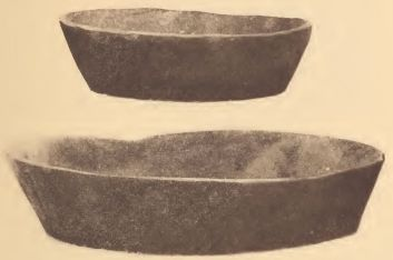 Pamunkey earthenware dishes.
