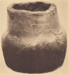 Modern clay pot of the Chickahominy.