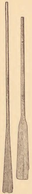 Chickahominy canoe paddles