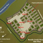 Roods Creek Mounds Site Plan